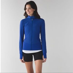 Lululemon In Flux Jacket in Sapphire Blue - Size 6